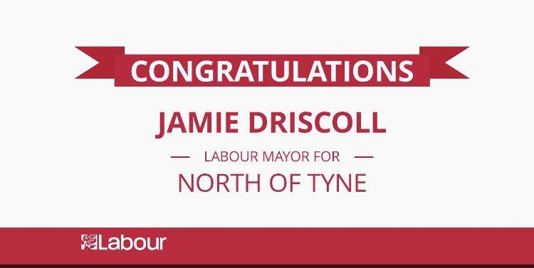 Congratulations, Mayor Jamie!