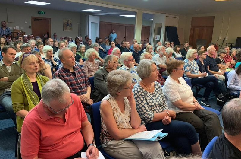 Climate Change Public Meeting Packs Out St Mary's