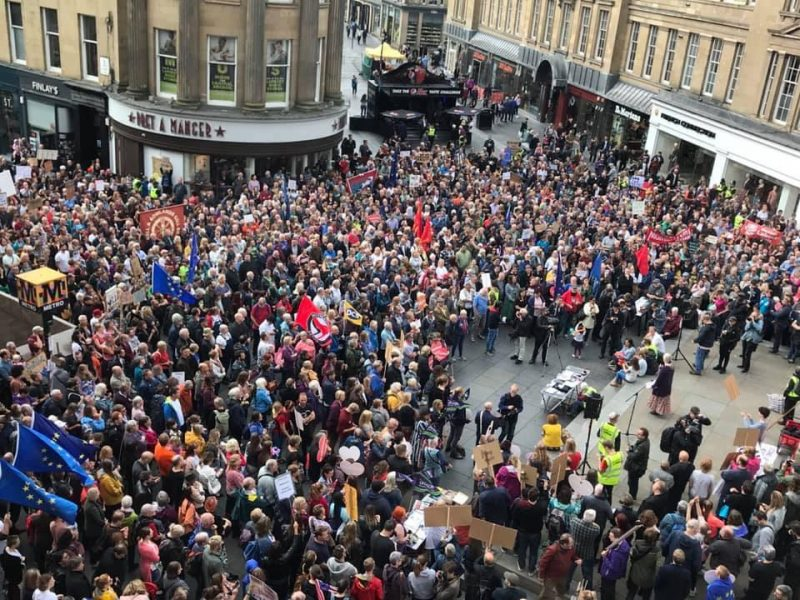 Newcastle and Northumberland stand firm for democracy