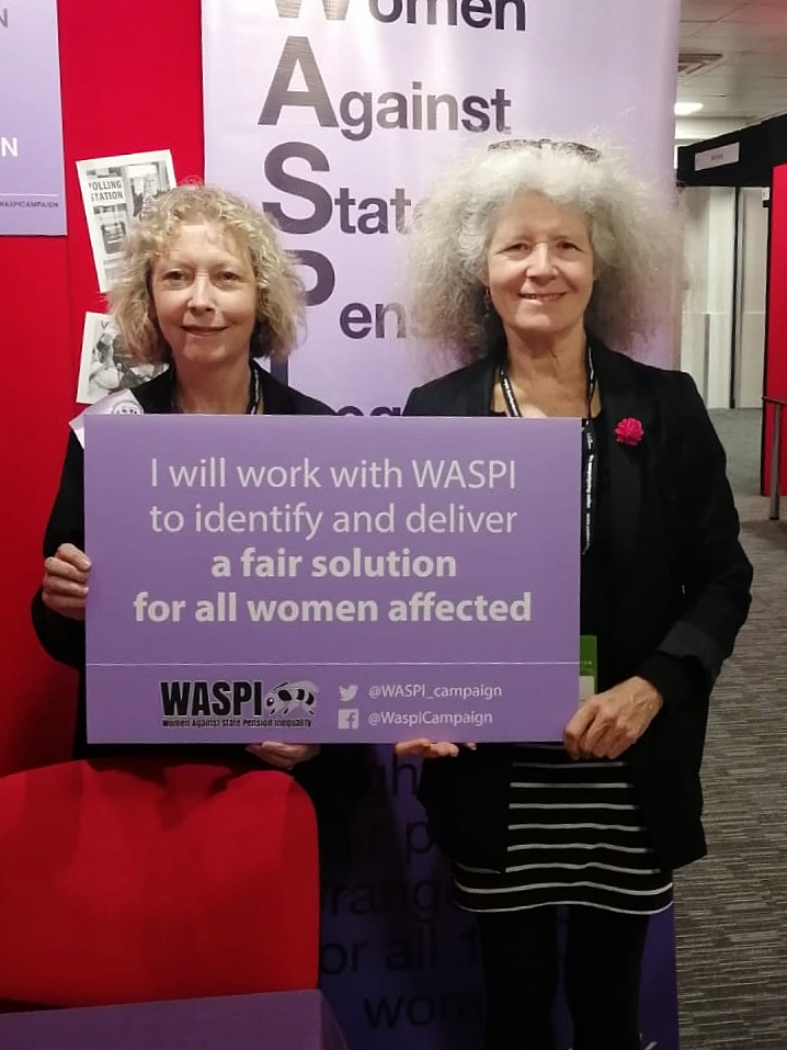 WASPI Women at the Labour Party Conference