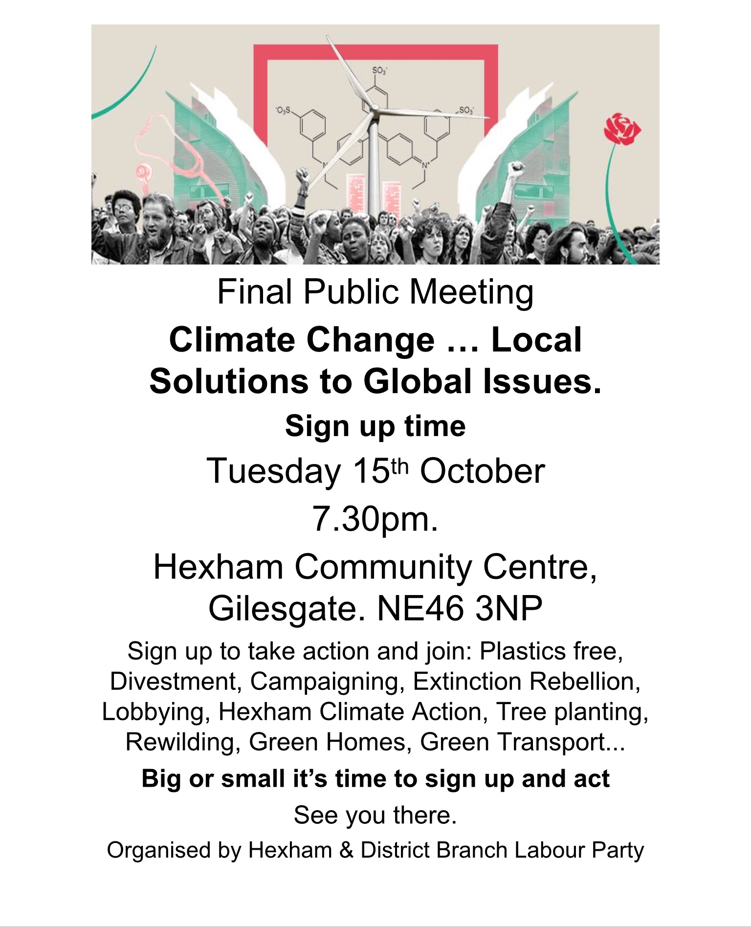 Climate Change Public Meeting