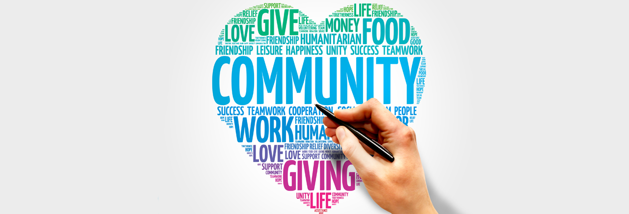 Community help during the COVID-19 crisis is here: