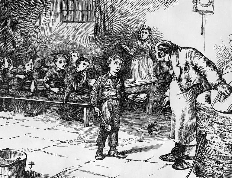 """Please sir, I want some more.""  – what does Oliver Twist have in common with the North?"