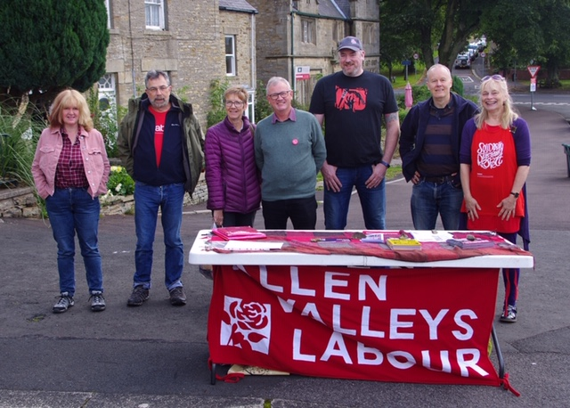 Labour's National Campaign Day of Action – The Allen Valleys