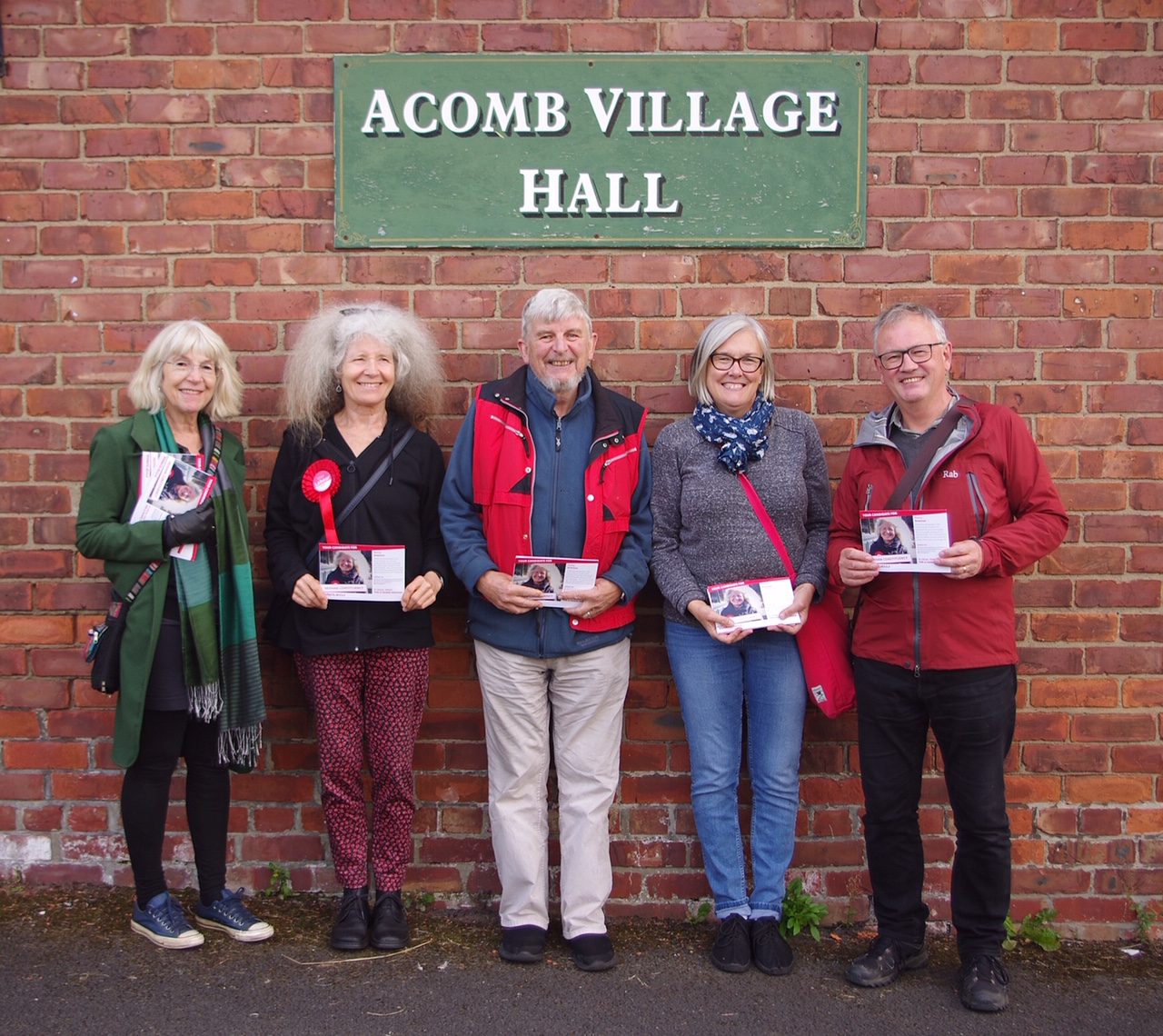 Campaigning in Acomb