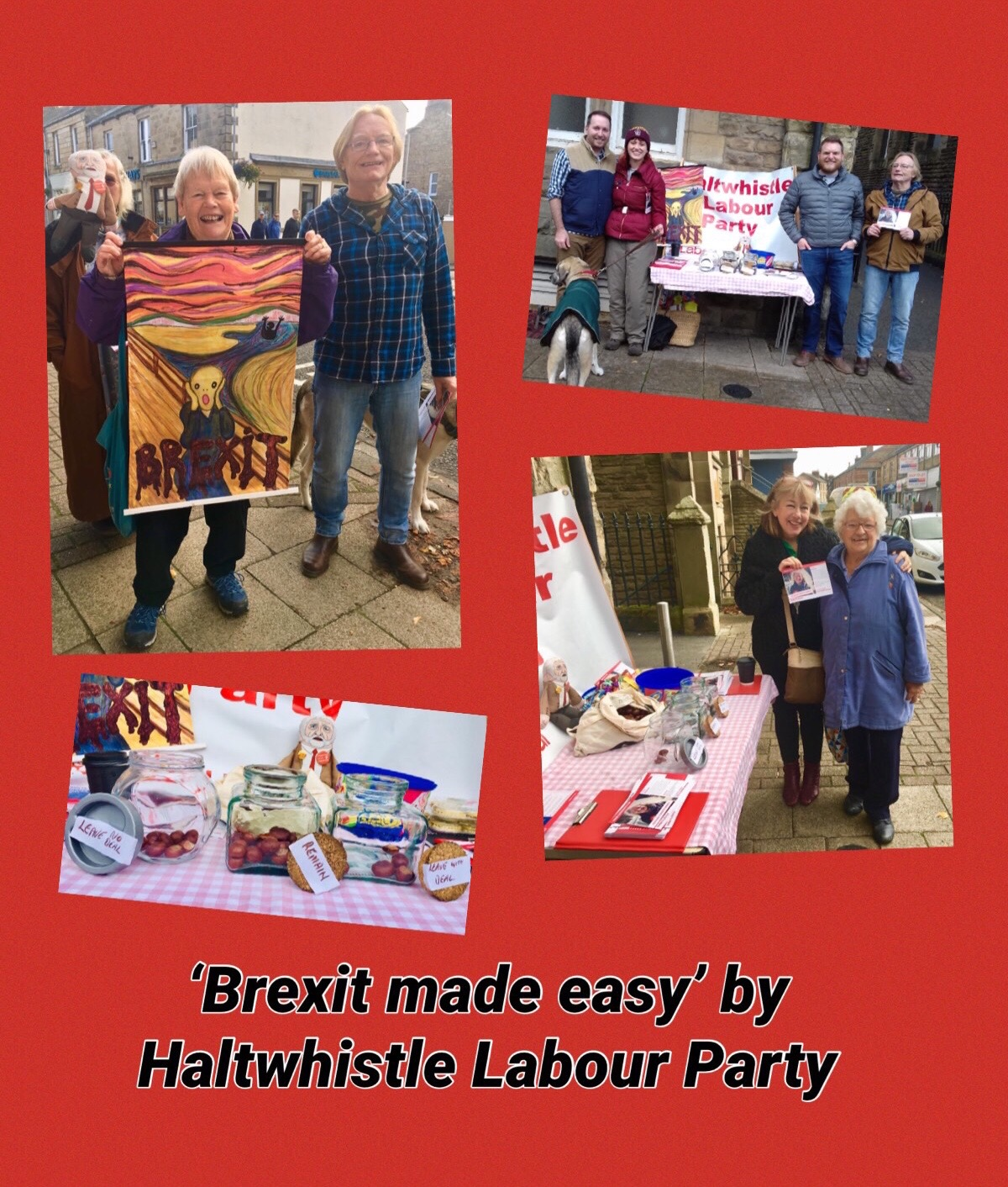 Haltwhistle Labour Party Brexit Stall