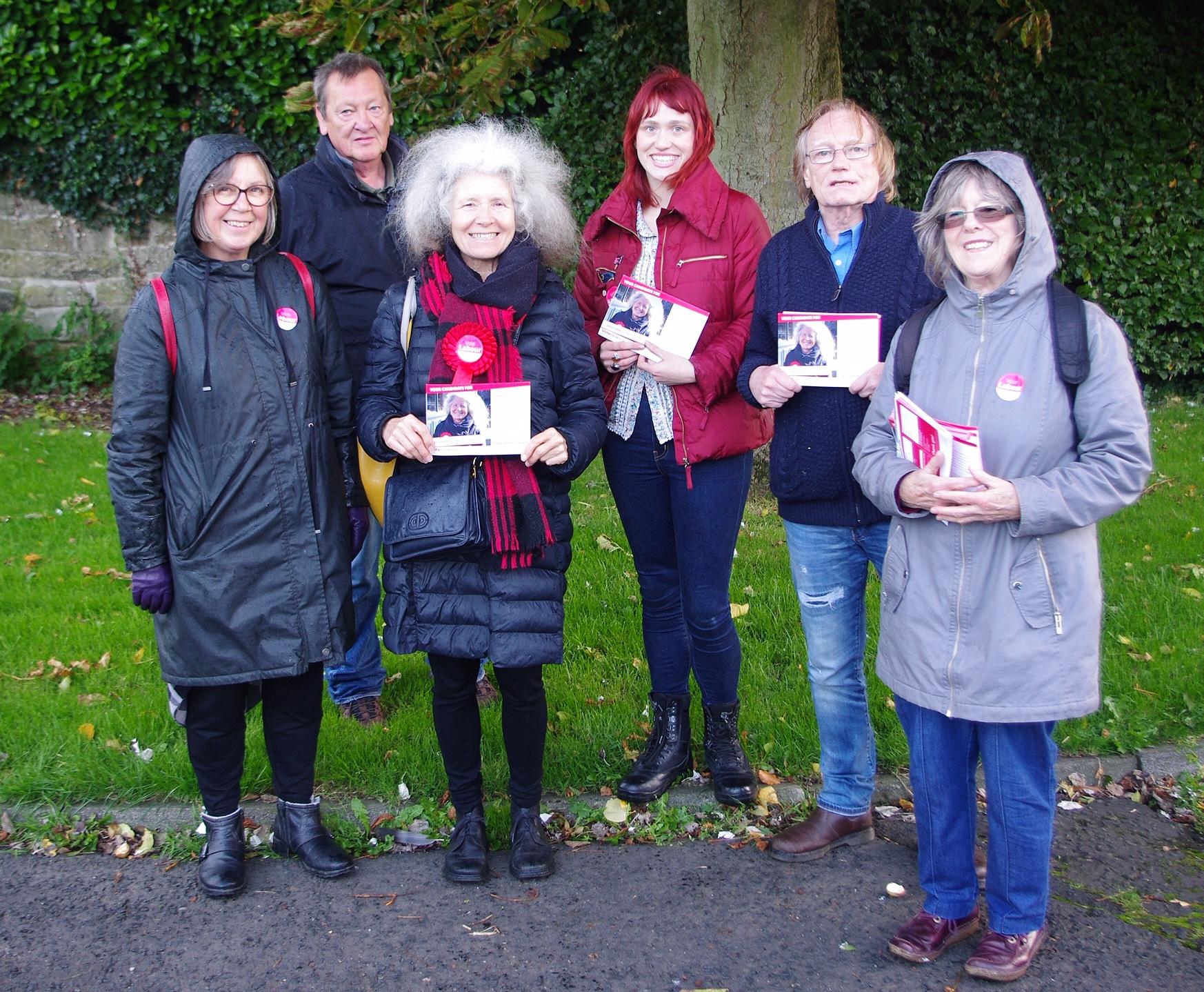 Campaigning in Corbridge