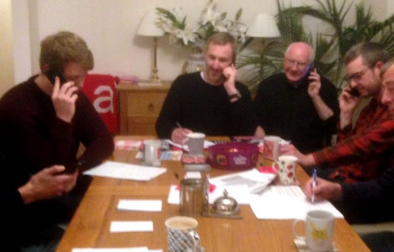 Ponteland Street Stall and Phone Canvassing