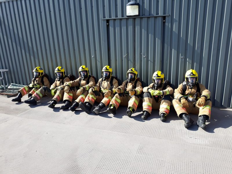 Allendale Fire Brigade: serious fires; working together gets applause