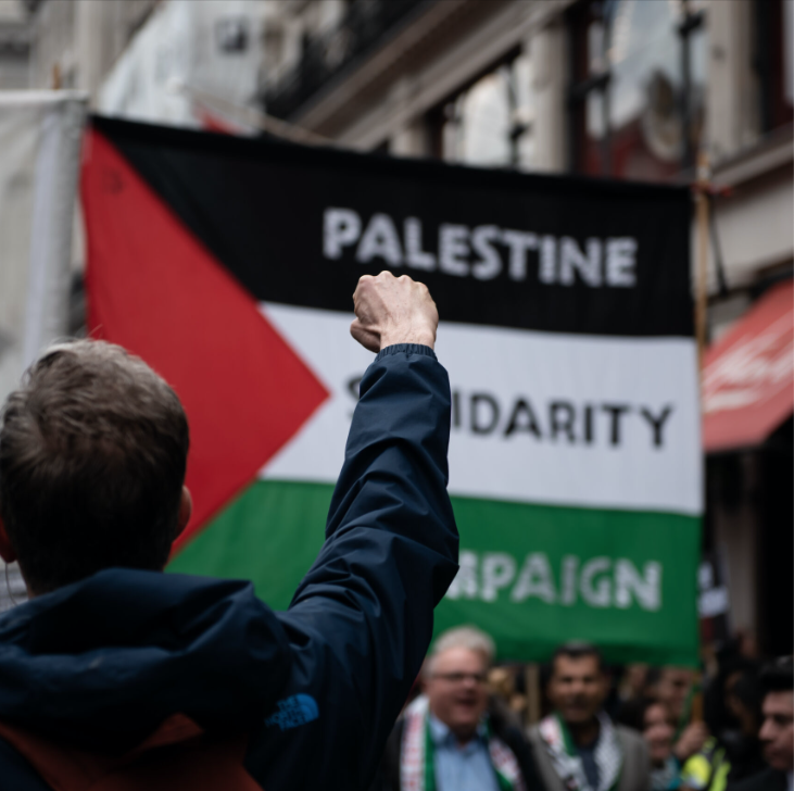 Hexham CLP supports justice for Palestine