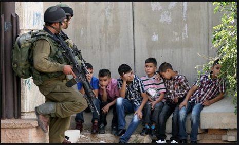 Palestinian Child Detention Part 1 video