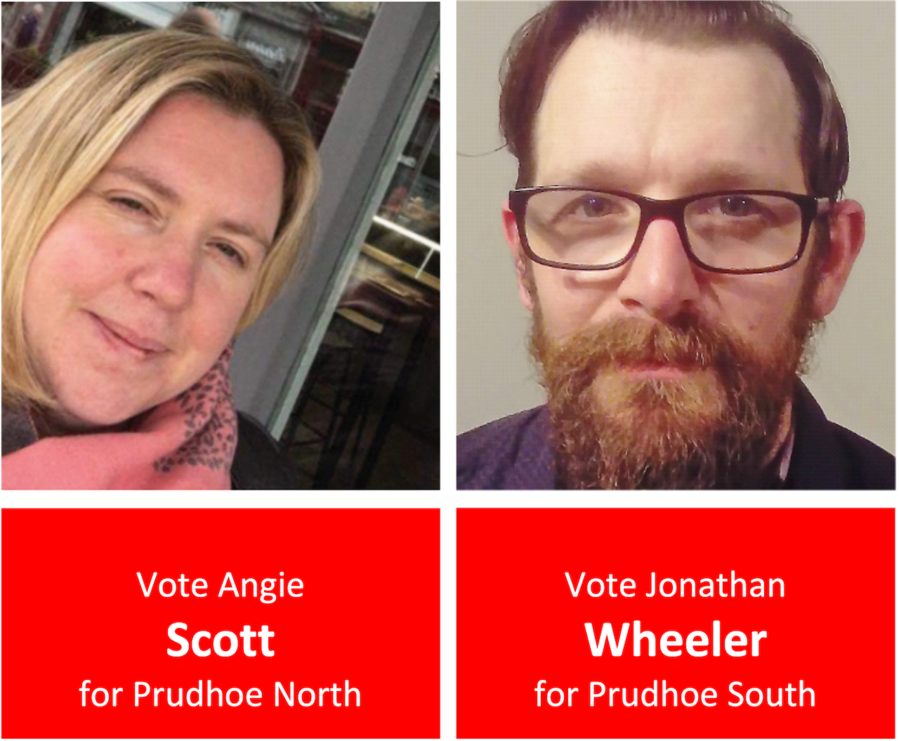 Updates from County Council candidates for Prudhoe