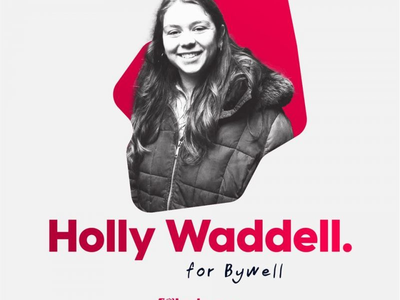 Bywell Candidate – Holly Waddell