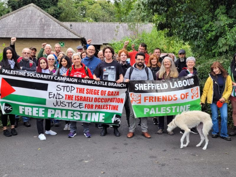 The Annual Walk the Tyne for Palestine event – 29 August 2021